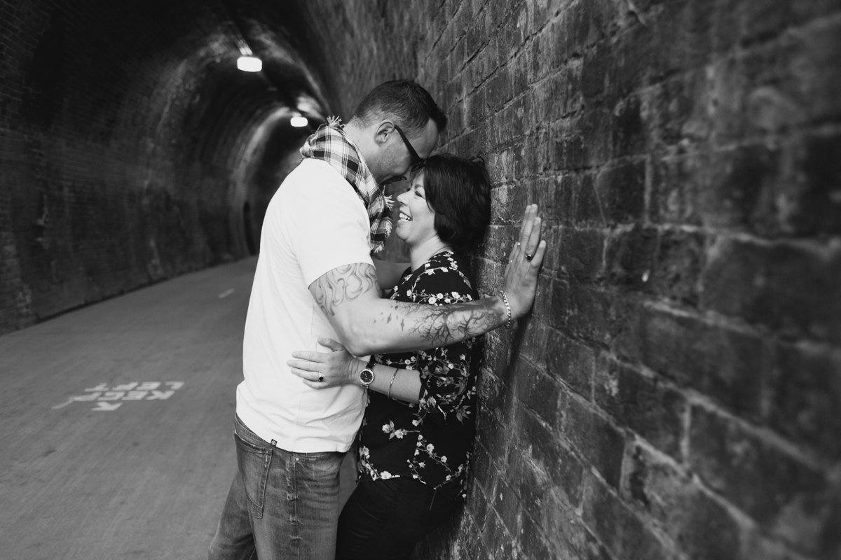 10_This newly engaged couple are so in love at the Fernleigh Track Tunnel