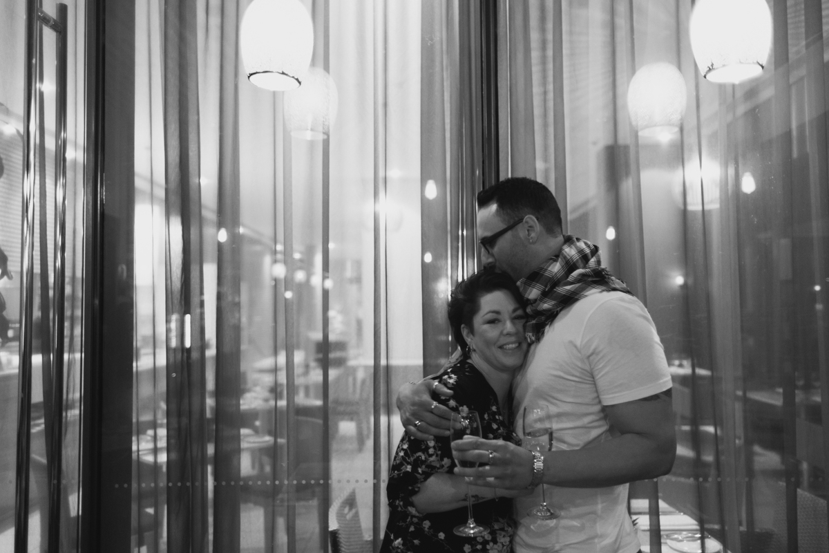16_Newcastle Wedding Photographer captures love between newly engaged couple at Bar Petit