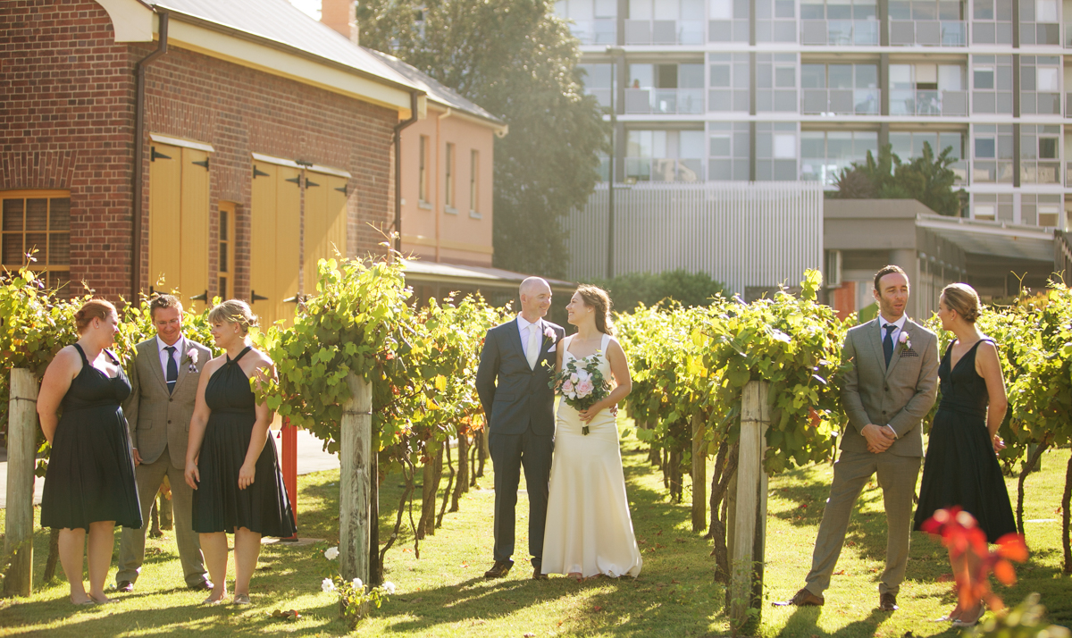 17_honesuckle vineyard is perfect backdrop for newcastle wedding photography