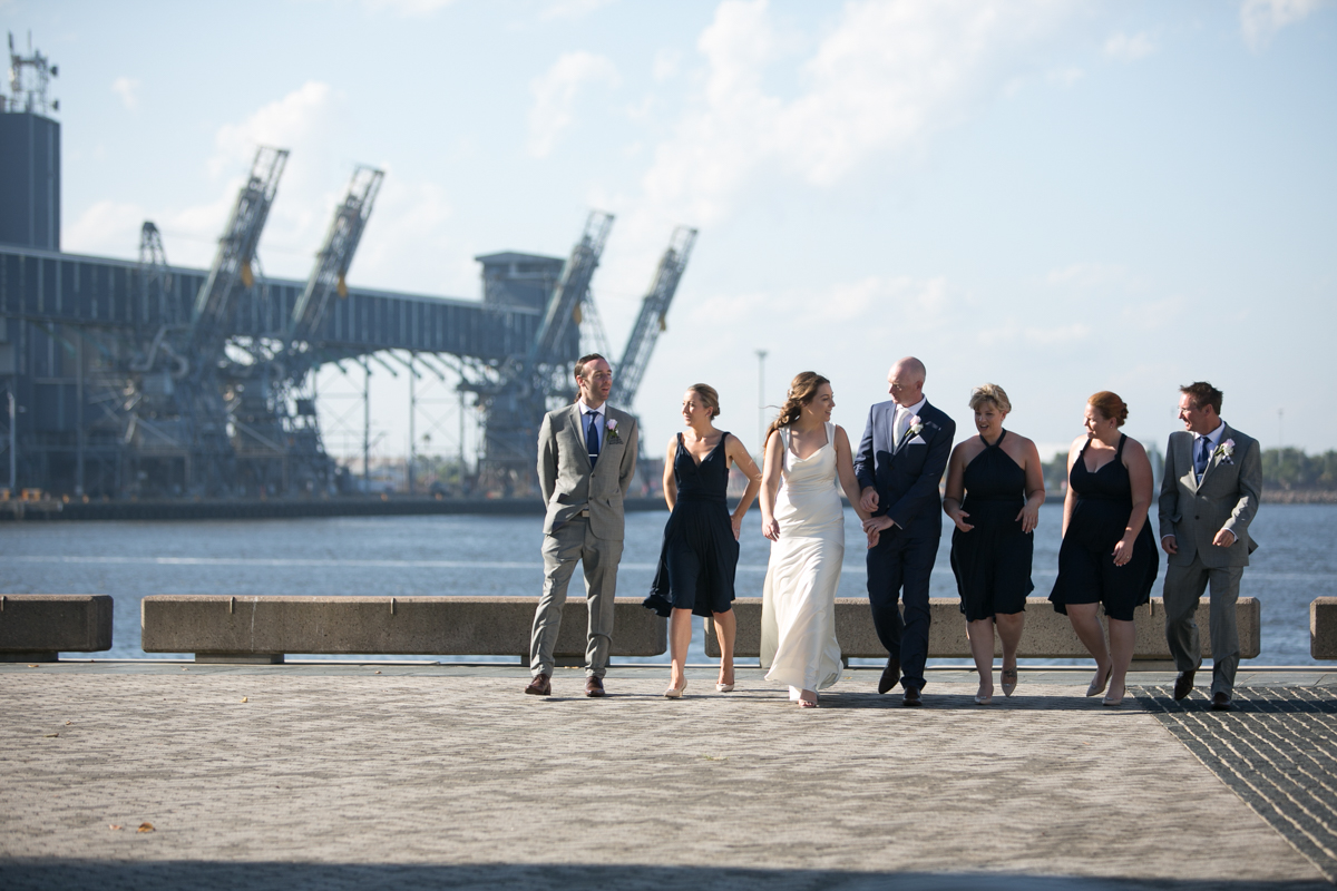 23_Newcastle foreshore is perfect location for awesome wedding photography