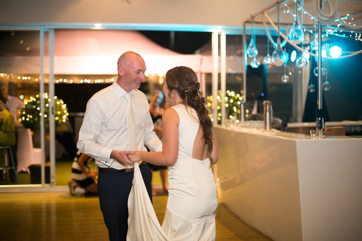 33_first dance at marina views by wedding photographer